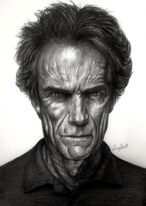 Clint Eastwood by ercansebat